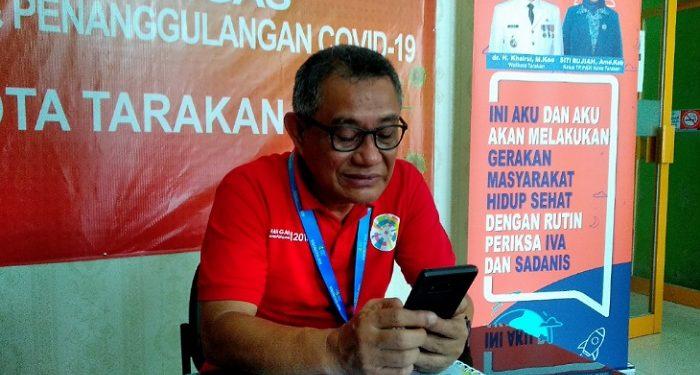 dr Hasbi Hasyim, Direktur RSUD Tarakan. Poto: fokusborneo.com
