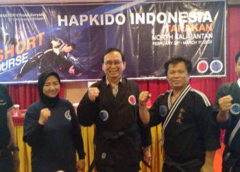 Master Hapkido Indonesia dan Leader Hapkido Kaltara. Poto: Istimewa