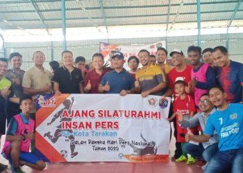 Futsal Ajang Silaturahmi Insan Pers se Kota Tarakan.