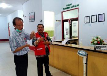 Pelayanan UDD PMI Tarakan. Poto: fokusborneo.com
