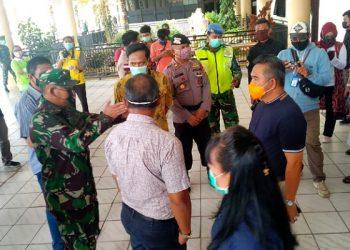 Walikota Tinjau Bandara Lama Yang Akan dijadikan Lokasi Screening penumpang. Poto:fokusborneo.com