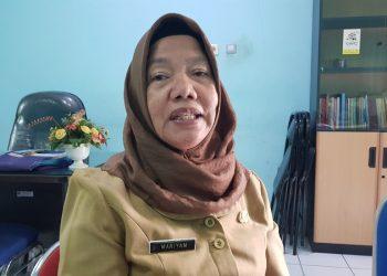 Kepala Dinas Sosial dan Pemberdayaan Masyarakat Kota Tarakan  Maryam. Foto : Fokusborneo.com