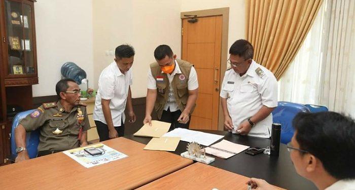 Wakil Walikota Tarakan Effendhi Djuprianto Tantadangi SK Sanksi kepada PNS, Poto: Humas Pemkot Tarakan