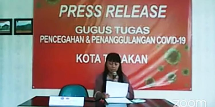 dr Devi Ika Indriarti, Jubis Satgas Covid-19 Tarakan.