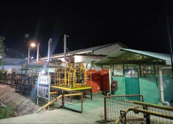 Mesin Pembangkit PLN Tarakan. Foto : Fokusborneo.com