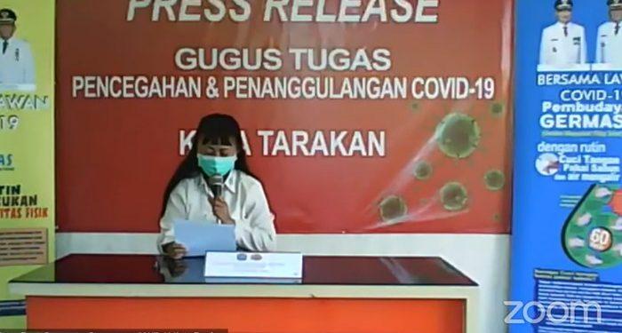 dr Devi Ika Indriarti, Jubir Satgas Covid-19 Tarakan, Poto: fokusborneo.com