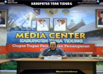 Jubir Satgas Covid-19 Kabupaten Tana Tidung M. Idham Noor. Foto : Fokusborneo