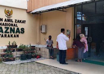 Baznas Kota Tarakan. Poto: fokusborneo.com