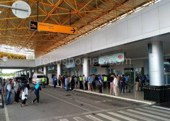Bandara Internasional Juwata Tarakan Sebelum Pembatasan Penerbangan. Poto: Fokusborneo Com
