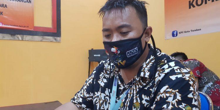 Anggota KPU Kota Tarakan Herry Fitrian. Foto : Fokusborneo.