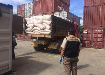 Kulit Kayu Bakau dari Berau Kaltim Ekspor ke Philipina. foto: Balai Karantina Kelas II A Tarakan