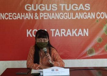 dr. Devi Ika Indriarti, Jubir Gugus Tugas Tarakan. Poto: Istimewa