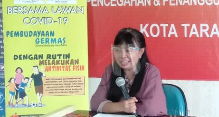 dr. Devi Ika Indriarti, Jubir Gugus Tugas Percepatan dan Penanganan Covid-19 Tarakan. Foto: Istimewa