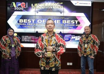 PT Pertamina EP Raih Best of The Best APQ Award 2020. foto: Istimewa/Humas PEP