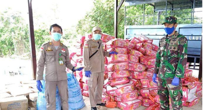 Daging Kerbau Beku dan Worter Ditahan Balai Karantina Pertanian Tarakan. Foto: Istimewa
