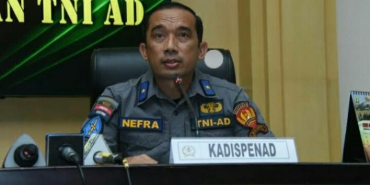 Brigjen TNI Nefra Firdaus (Kadispenad)