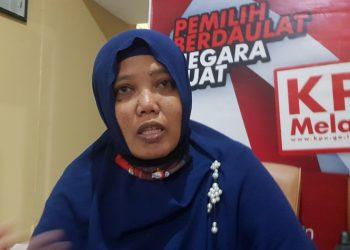 Anggota KPU Kota Tarakan Jumaidah. Foto : Fokusborneo.com