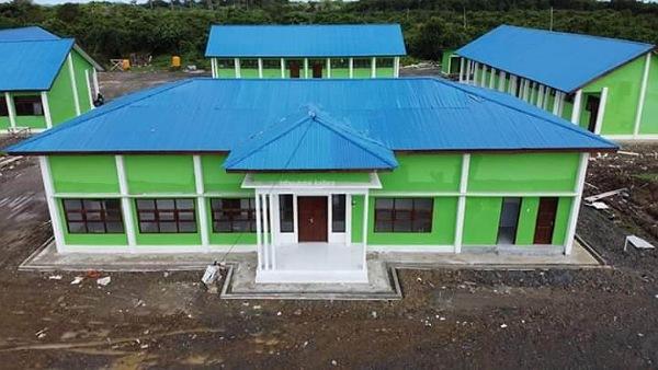 Pembangunan SMK Negeri 2 Tanjung Selor telah rampung dikerjakan dan sudah dimanfaatkan. Foto : Humas Provinsi Kaltara
