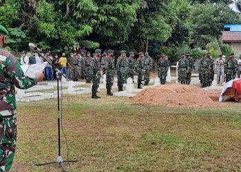 Veteran Kemerdekaan Dimakamkan di Pemakaman Taman Makam Pahlawan Dwikora Tarakan. Foto: Istimewa/Kodim 0907 Tarakan