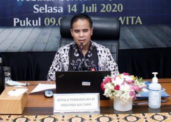 Kepala Kantor Perwakilan Bank Indonesia (KPwBI) Kaltara Yufrizal. Foto : Istimewa