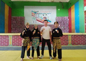 3 pesilat asal SMK Negeri 1 Bunyu yang berhasil berprestasi pada Open International Virtual Pencak Silat Tournament 2020. Foto : Humas Pemprov Kaltara