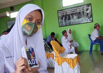 Shivah Pelajar SMA N 1 Tarakan. Foto: fokusborneo.com