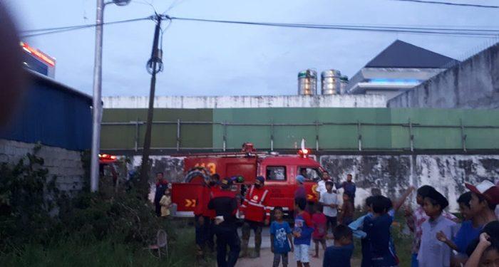 Nyaris Hangus, PMK Tarakan Berhasil Padamkan Kebakaran di Jalan Hasanuddin Tarakan, foto: Istimewa/Damkar
