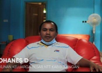 Ketua Kerukukan Keluarga Besar Nusa Tenggara Timur (NTT) Kabupaten Bulungan, Jefri Johanes D. Foto : Istimewa