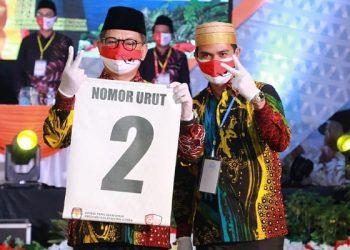 Irianto Lambrie - Irwan Sabri (IRAW) Dapat Nomor Urut 2.  foto: Istimewa/relawan