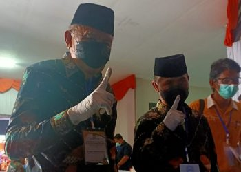 Udin Hianggio - Undunsyah Mendapatkan Nomor urut 1 Pada Pilkada 2020. foto: fokusborneo.com