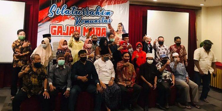Komunitas Gajah Mada Deklarasi Dukung Udin Hianggio - Undunsyah, Foto: fokusborneo.com