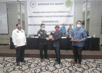 Komite II DPD RI Gelar Seminar Uji Sahih RUU Tentang Pengelolaan Sampah. foto: Istimewa