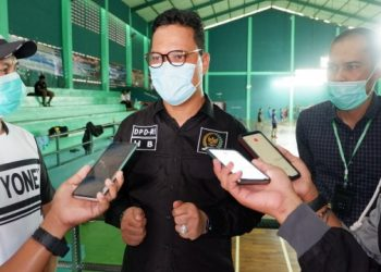Ketua Umum PBSI Kaltara Hasan Basri. Foto: Fokusborneo.com