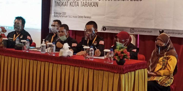 KPU Tarakan Tetapkan DPT 143.130, foto: fokusborneo.com
