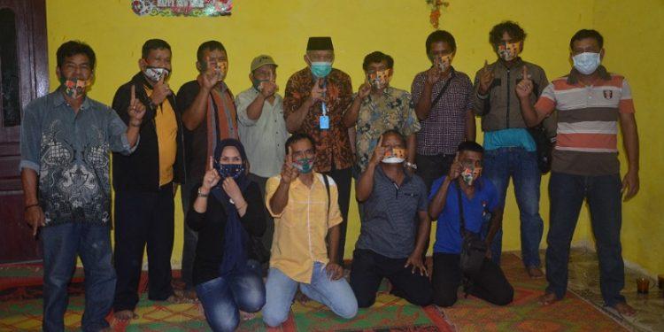 Calon Gubernur Kaltara Udin Hianggio Silaturahmi dengan Tokoh Masyarakat dan Pemuda di Tanjung Selor. Foto: Istimewa