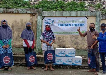 Lembaga Amil Zakat Rumah Yatim Tarakan Distribusikan Bantuan Sembako Untuk Anak Yatim, Dhuafa dan Lansia. Foto: Istimewa/Laz Rumah Yatim