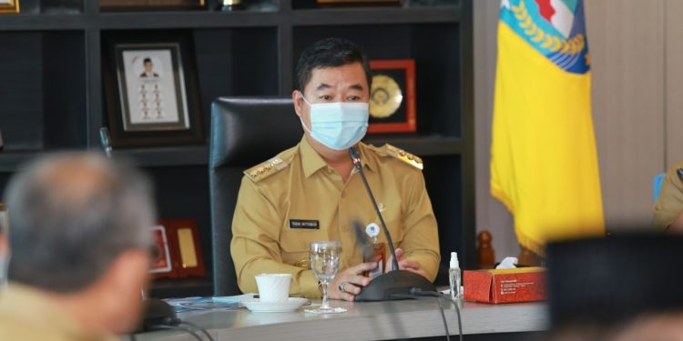 Pjs Gubernur Kaltara Teguh Setyabudi. Foto: Humas Pemprov Kaltara