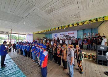 RELAWAN ZIYAP: Yansen TP Kukuhkan Relawan di Bumi Kabudaya. Foto: Istimewa