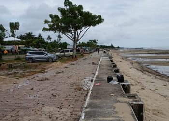 Wajah Baru Pantai Amal di Pesisir Timur Kota Tarakan, foto: Fokusborneo.com