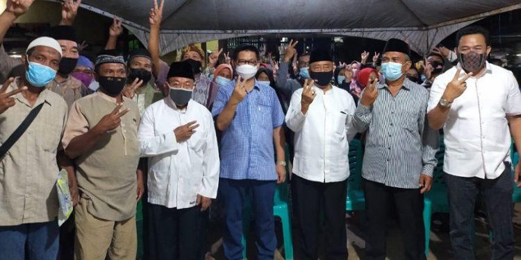 Calon Gubernur Kaltara Irianto Lambrie Jalin Silaturahmi dengan Warga Sebengkok AL. Foto: Media Center
