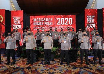Workshop Humas Polri. Foto:IST/humas Polda