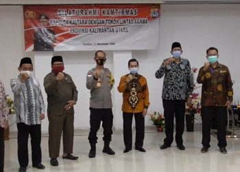 Wakapolda Kaltara Foto Bersama Tokoh Agama Yang Tergabung dalam FKUB Kaltara. Foto: istimewa