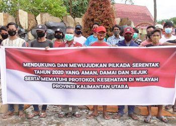 Pengurus IKAT Tarakan Deklrasi Pilkada Damai, foto:IST