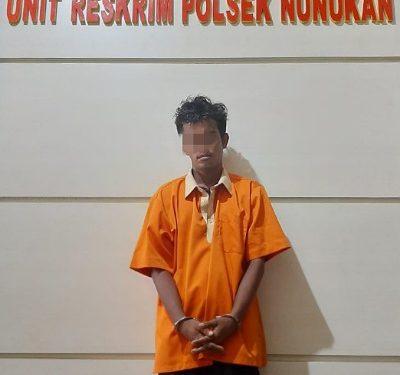 Residivis Pencurian Diamankan Unit Reskrim Polsek Nunukan Beserta Barang Bukti. Foto: Istimewa