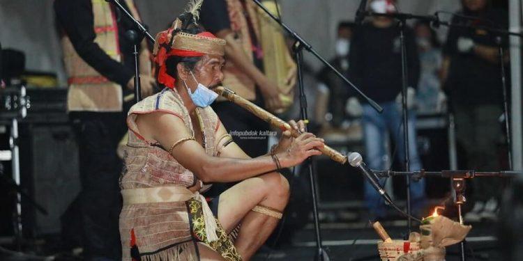 MUSIK ALAM : Gelaran Musik Alam Fest 2K20 pada Jumat (11/12) malam. Foto : Humas Provinsi Kaltara