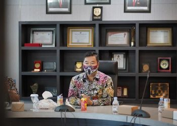 Pjs Gubernur Kaltara Dr. H. Teguh Setyabudi, M.Pd. hadiri Pertemuan Tahunan Bank Indonesia (PTBI) tahun 2020