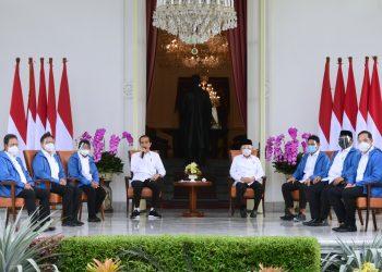 Keterangan Pers 6 Calon Menteri Kabinet Indonesia Maju. Foto: Muchlis Jr - Biro Pers Sekretariat Presiden