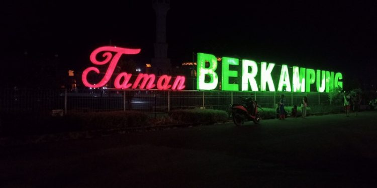 Taman Berkampung Tarakan. Foto: fokusborneo.com