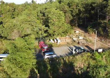 Pemakaman Khusus Covid-19 di Kelurahan Juata Laut. Foto: Istimewa