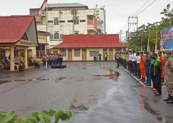 Polres Tarakan Gelar Pasukan Operasi Lilin Kayan 2020. Foto: fokusborneo.com